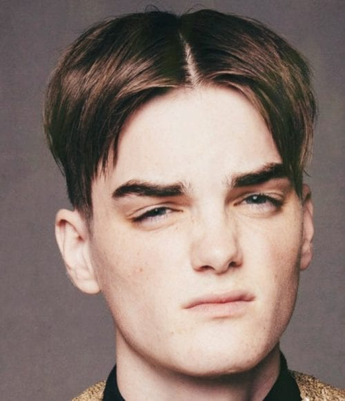 90 S Curtain Hairstyles For Men Middle Part Hair Guys Men S Style