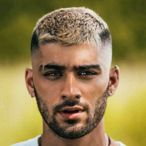 Top 35 Amazing Zayn Malik Hairstyles Haircuts 2020 The High And Tight Haircut With Two Color