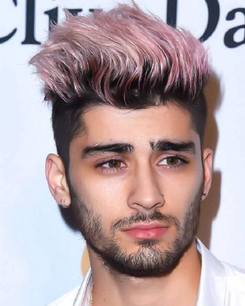 Top 35 Amazing Zayn Malik Hairstyles Haircuts 2020 Zayn Malik Pink Colour Hairstyle