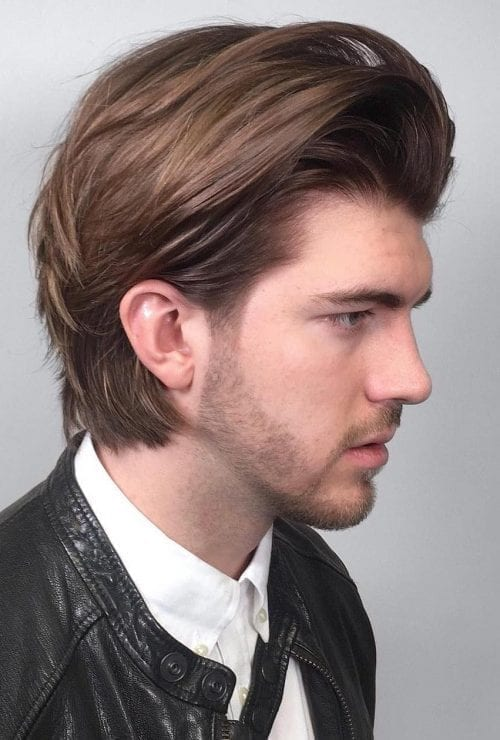 The Ear Tuck Hairstyle Men S Haircut Tucked Behind The Ear Men S Style