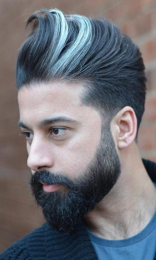 70 Best Hair Dyes For Men   Men's Hair Color Trends 2021   Colorful Hairstyle Ideas For Men ...