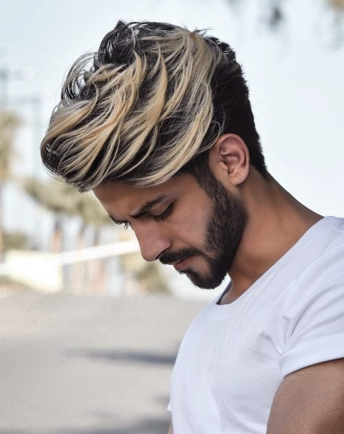 70 Best Hair Dyes For Men Men S Hair Color Trends 2021 Colorful Hairstyle Ideas For Men Men S Style