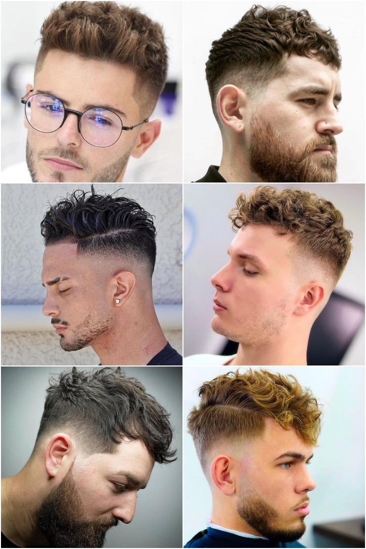80 Short Wavy Haircuts For Men Best Men S Short Wavy Hairstyles 2021 Men S Style